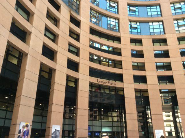 strasburgo e l 39 esperienza nella sede del parlamento